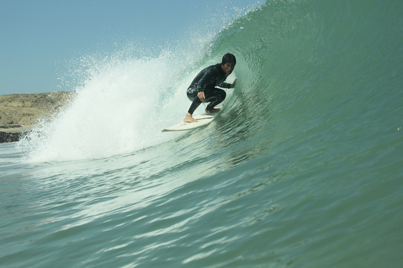 Cabo Blanco surf break