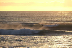 Easterly swell at Wainui, Wainui Beach - Schools photo