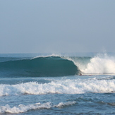 Nice little tube, North Jetty (Hikkaduwa)