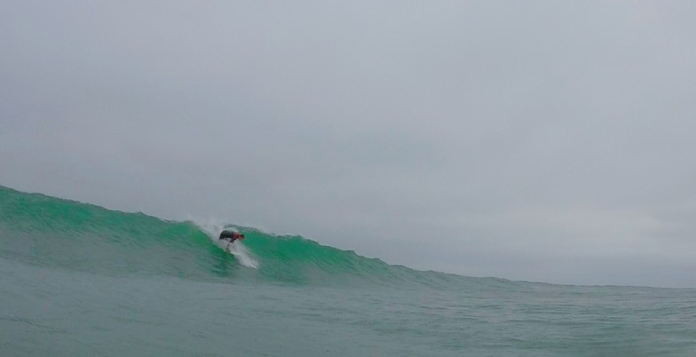 Ryan Clay about to get pitted, Wrightsville Beach