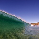 Clean Day at Caves, Caves Beach