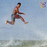 Running on Water, Cimaja