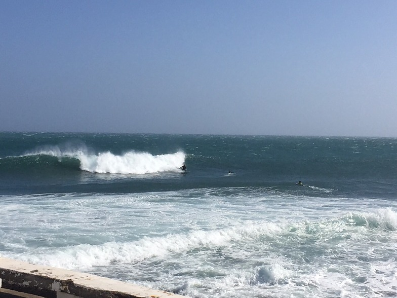 Arinaga surf break