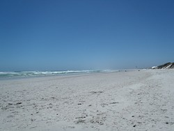 View from Yzerfontein towards langebaan photo