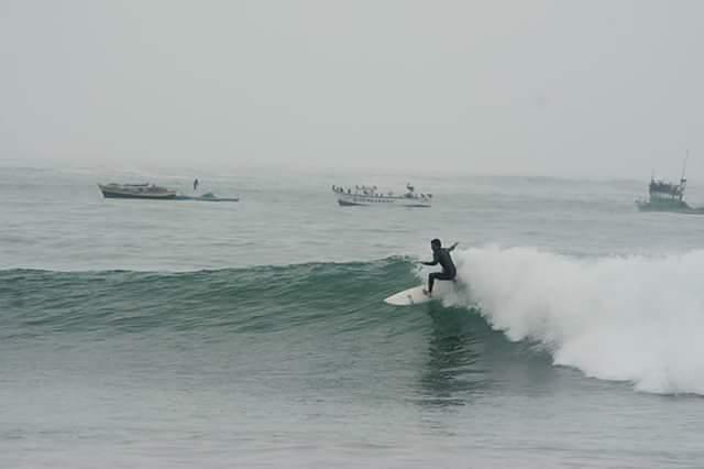 Triangulo surf break