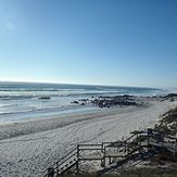 Main beach looking towards 16 mile., Yzerfontein