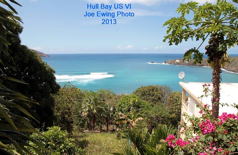 Hull Bay surf break