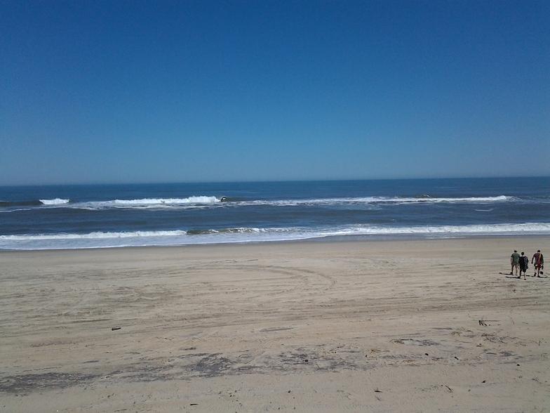 Avon Pier surf break