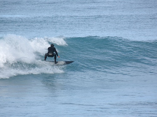 Small east swell, Meatworks