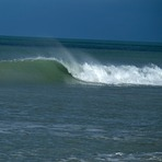 Clean swell, Amberley Beach