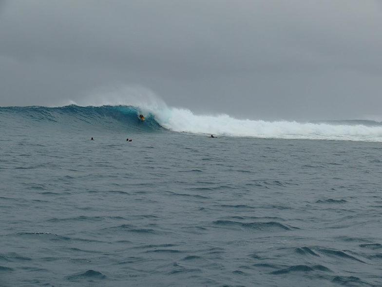 Dumbea Rights surf break