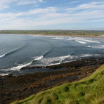 Tail end of Hurricane Danielle Swell, Lahinch Left