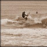 Unknown surfer @ Marina di Campo, Marina di Campo / Pineta
