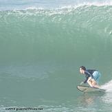Nice wave at Cimaja