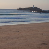 Building swell, Godrevy