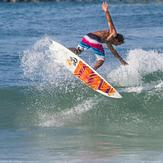 summer swell, Panama City Beach