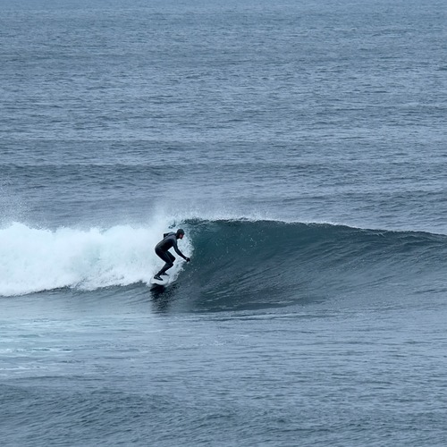 Small, clean swell, Easky Left