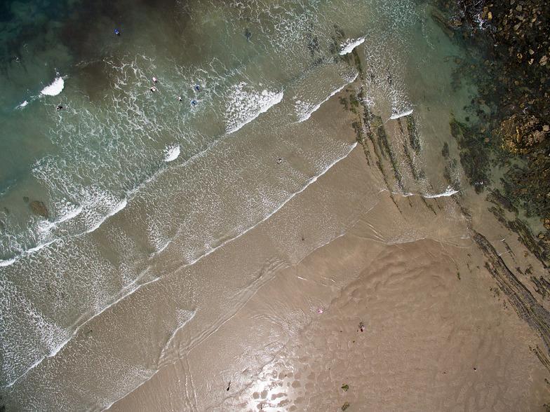 Crackington Haven shorline