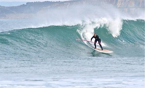 SUP, Playa de Barranan