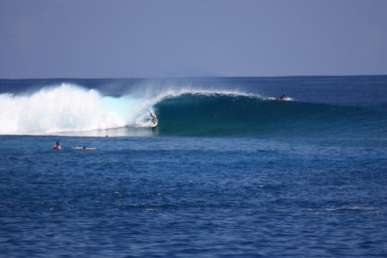 Tiger Stripes surf break