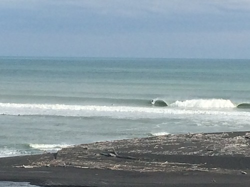 Locals only, Wairoa River Mouth