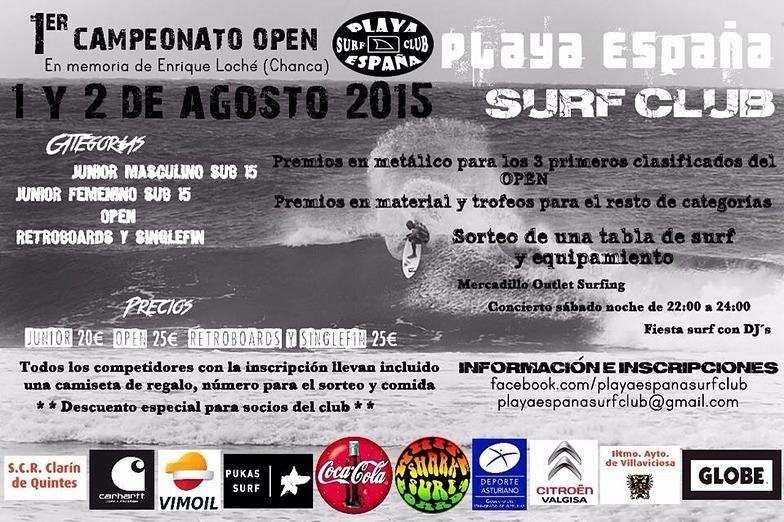open, Playa de Espana