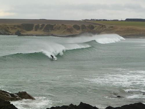 Suds Surf School - fun day at Sandend, Sandend Bay