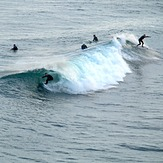 Summer swell at PR, Petes Reef