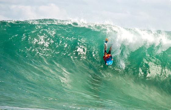 The Box surf break