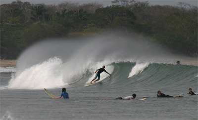 Tamarindo surf break