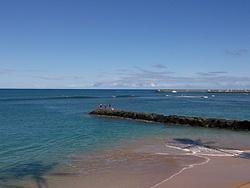 Friendliest Beach on the Westside, Pokai Bay photo