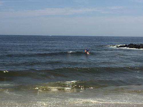 Midday near Sunset Beach, Asbury Park