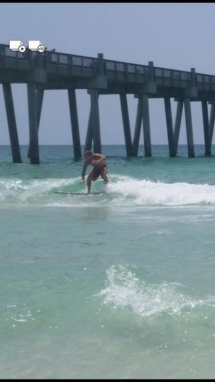 Pensacola Beach Pier break guide