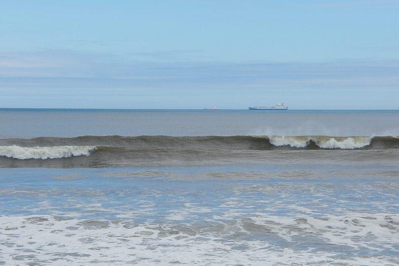 Whitby surf break