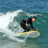 Sunny day, nice wave, that's all I need., El Porto Beach