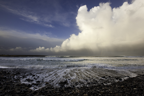Barvas (Lewis) surf break