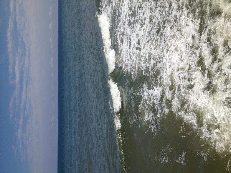 Kitty Hawk Pier surf break