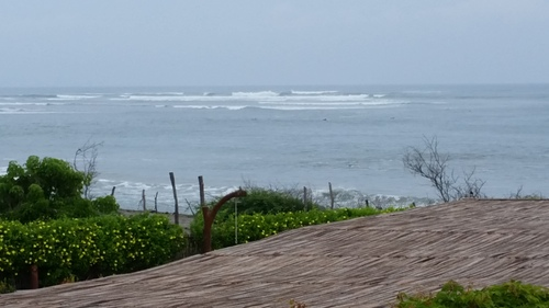 La Chuperosa toward The Wave in Salidita, La Saladita