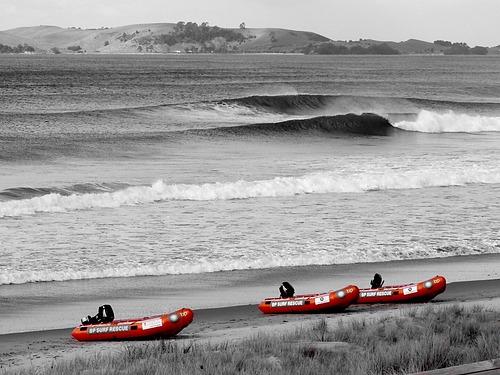 Line up, Pauanui Beach
