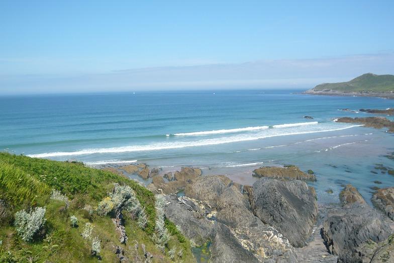 Coombesgate Beach break guide