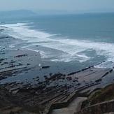 main kamp, Playa de Barrika