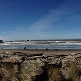 South Jetty: Coquille river mouth lighthouse, Bandon Beaches