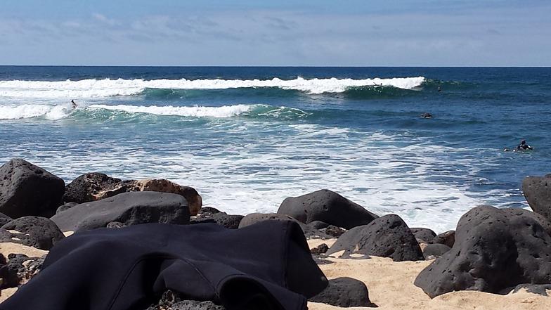 Majanicho surf break