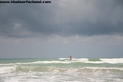 Happy Surfing Rayong Everyone., Rayong Mae Ramphung Beach photo