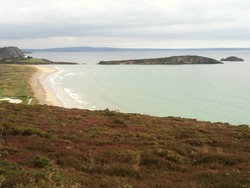 Plage L'Aber viewed from SW photo