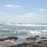 San Elijo beach near the cove, San Elijo State Beach