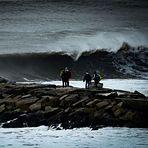 Swell en La Popu, La Popular (Mar-del-Plata)