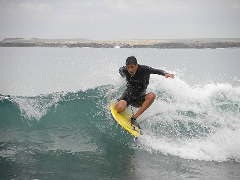 Asuncion Bay surf break