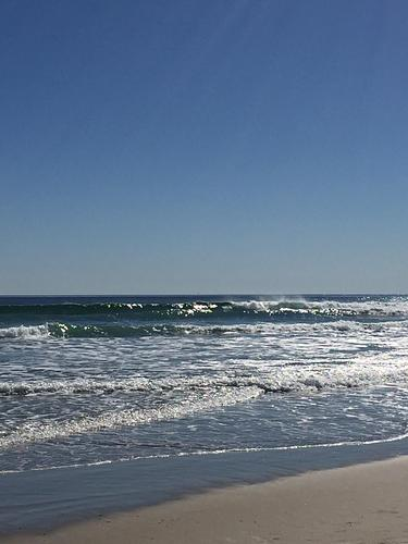 Autumn waves, Ogunquit Beach