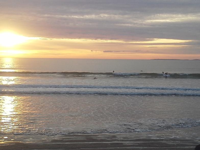 Rossnowlagh surf break